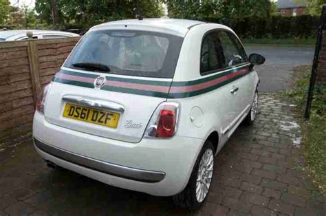 Gucci Fiat 500 For Sale by Fiat 500 Gucci Edition 1 2 2012 Light Damaged Salvage Car