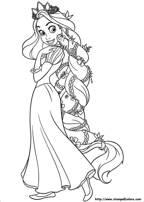 disegni de rapunzel