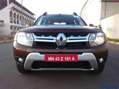 renault duster new 2016 renault duster facelift awd and amt review