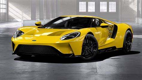 Ford Now Taking Orders For The New Gt Sports Car  Robb Report