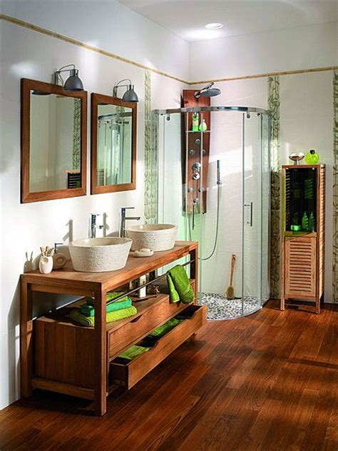 salle de bain originale id 233 e d 233 coration salle de bain originale la est habill 233 e de vrais galets qui