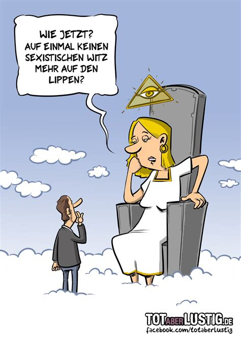 tot aber lustig  twitter neuer cartoon