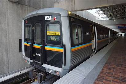 Marta Atlanta Rail Line Gold Corridor Clifton