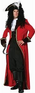 Adult Captain Hook Costume - Men Disney Costumes