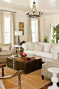 25, Comfy, Farmhouse, Living, Room, Design, Ideas