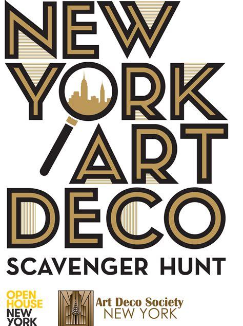 deco society new york new york deco scavenger hunt tickets sat aug 9 2014 at 10 00 am eventbrite