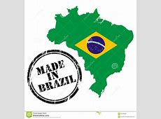 Made In Brazil Royalty Free Stock Photo Image 24129365