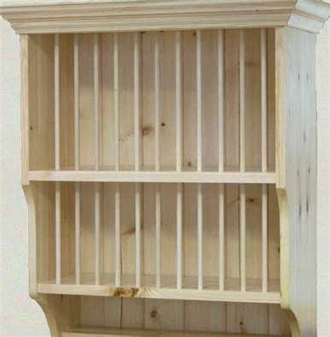plate rack plans building wooden plate rack wall