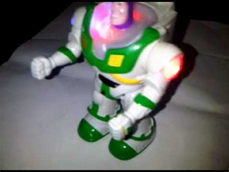 robot buzz light year toys story youtube