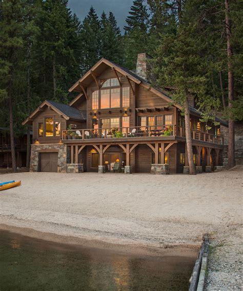 lake cabin priest lake cabin mountain architects hendricks