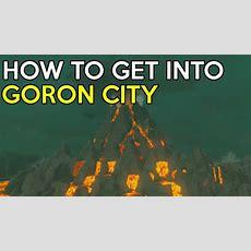 How To Get Into Goron City & Flamebreaker Armor Set Location  Legend Of Zelda Breath Of The