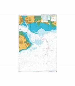 British Admiralty Nautical Chart 2037 Eastern Approaches