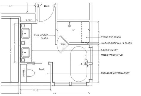 masculine modern farmhouse bathroom floor plan interior