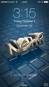 Download 3D Name Wallpaper Neha Gallery