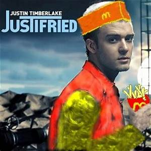 Album Cover Parodies Of Justin Timberlake Justified