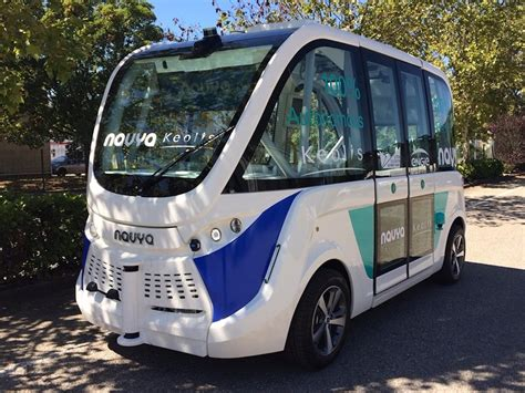 Self-driving Bus Trials Carried Out In East London By