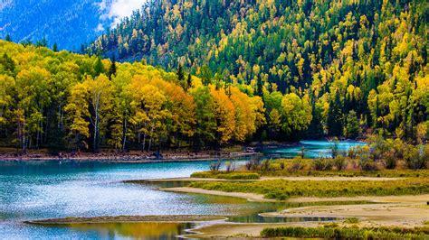 Kanas Lake Xinjiang China Travel Photo Hd Wallpaper 01