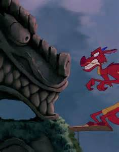 Great Stone Dragon Mulan Mushu