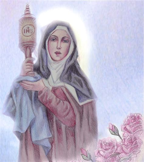 st clare of assisi lead us to heaven