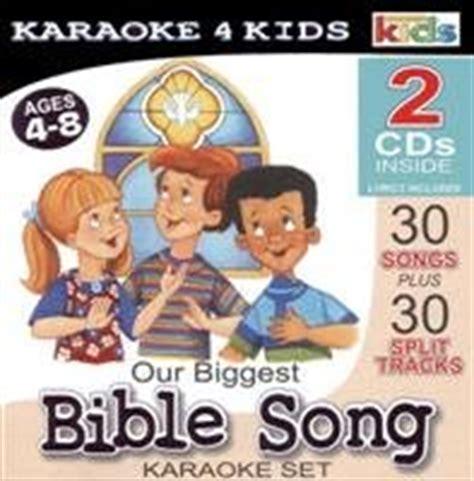 Wonder Kids  Our Biggest Bible Song Karaoke Set Amazon