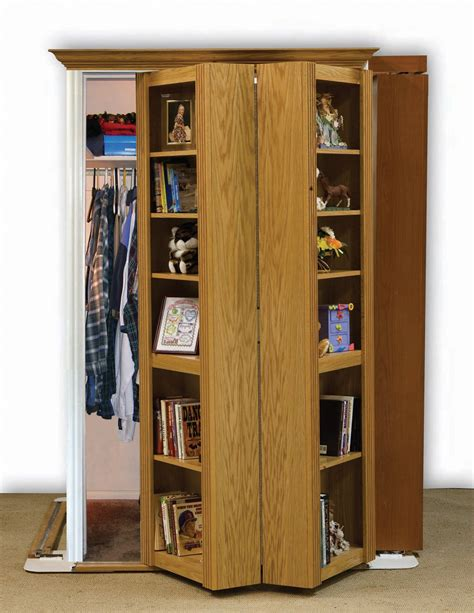 Bookcase Closet Doors by New Secret Door Kits From Rockler Kits Make Easy To