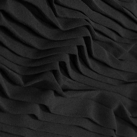 black accordion pleated chiffon  images pleated