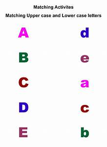 7 Best Images Of Alphabet Matching Printable Worksheets