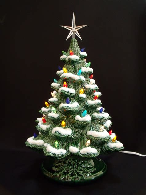 how to make a ceramic christmas tree winter ceramic tree 16 by darkhorsestore