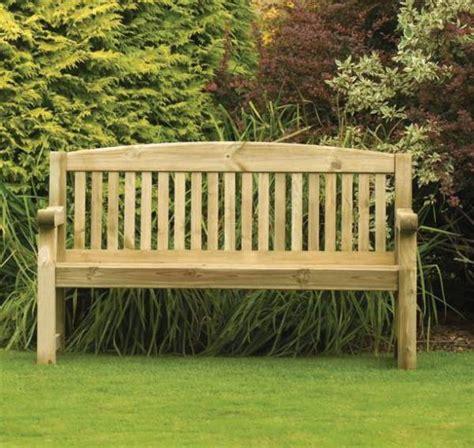 athol chunky  foot wooden garden bench brand  autumn