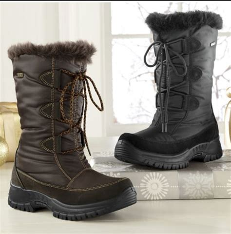 winter fashion  types  boots  woman