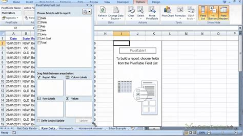excel pivot table tutorial excel pivot table quick tutorial hd youtube