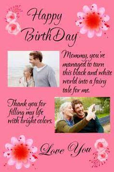 birthday letter  mother ideas birthday