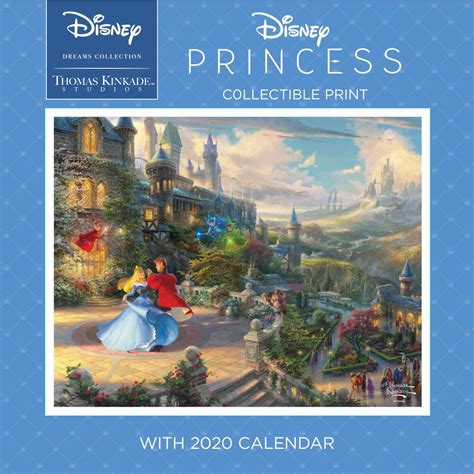 kinkade mickey minnie collect wall calendar thomas kinkade