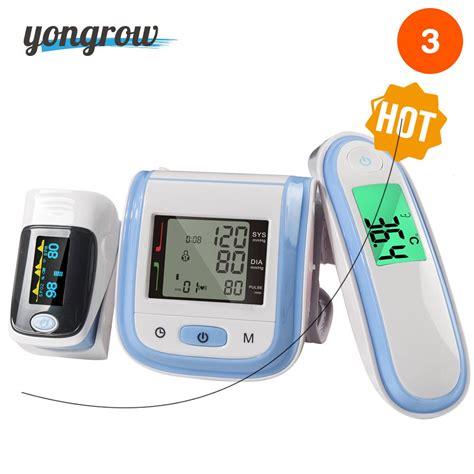 Yongrow Digital Fingertip Pulse Oximeter SpO2 Wrist Blood