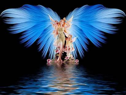 Angel Wings Wallpapers Protective Background Desktop Fantasy