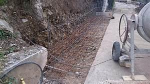Mur En Béton : r alisation d 39 un mur de restanque en b ton banch grasse magagnosc m diterran e constructions ~ Melissatoandfro.com Idées de Décoration