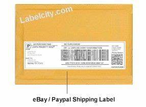Dymo ebay paypal shipping labels 99019 dymo label for Dymo address label template