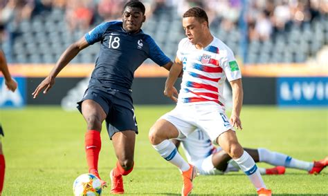 World Cup Usa Shocks France The Round