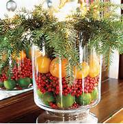 Decorating With Fiestaware Fruit And Pine Christmas Vase Decor
