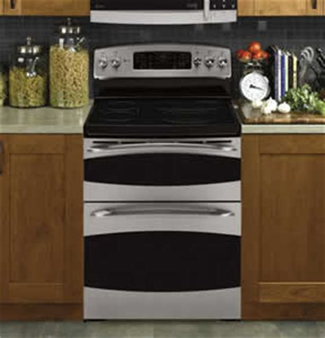 ge pbspss profile  standing double oven range user manual