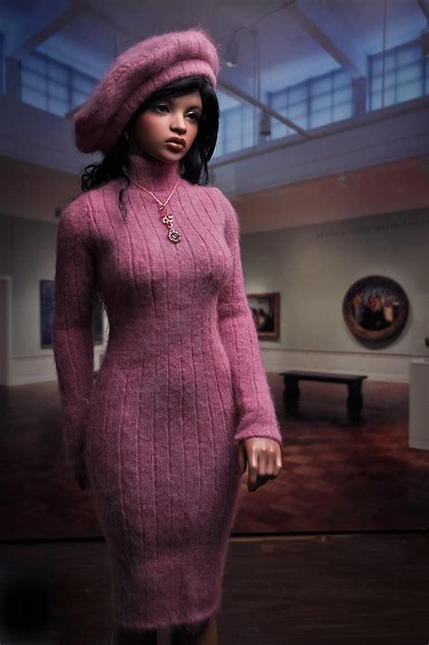 angora sweater girl sewing projects burdastylecom
