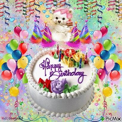 Birthday Happy Celebration Bear Teddy Cake Plays