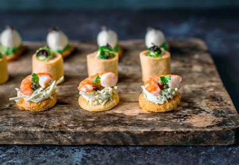 canapé français canape cocktail finger food catering at your table