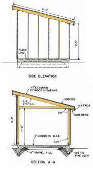bobbs 10x12 shed plans materials list