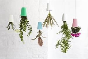 Boskke Sky Planter : sky small hanging flowerpot polypropylene small h 13 cm upside down planter white by ~ Orissabook.com Haus und Dekorationen