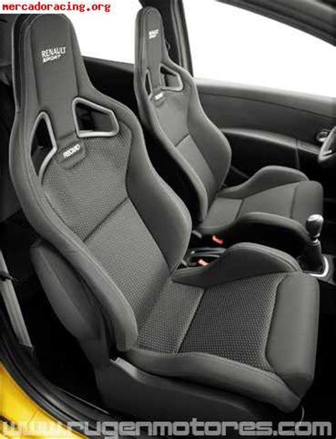 si鑒e recaro sport asientos recaro clio sport f1 team venta de equipación interna vehículo