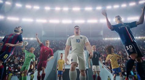 neymar stars  nikes greatest ad video    game