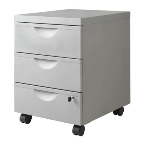 Ikea Erik 2 Drawer File Cabinet by Erik Drawer Unit W 3 Drawers On Casters Ikea
