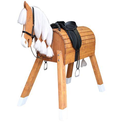 holz pferd fuer kleine prinzessinnen und cowboys