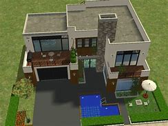 Astounding Maison Moderne Sims 2 Contemporary - Best Image Engine ...